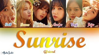 GFRIEND (여자친구) - SUNRISE (해야) Color Coded Lyrics / 가사 [Han|Rom|Eng]