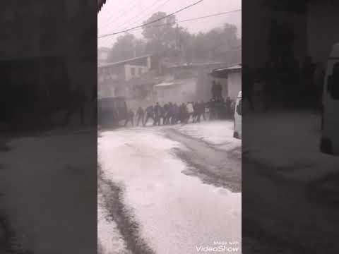 Сильный ливень.град.потоп.ужас. Дагестан