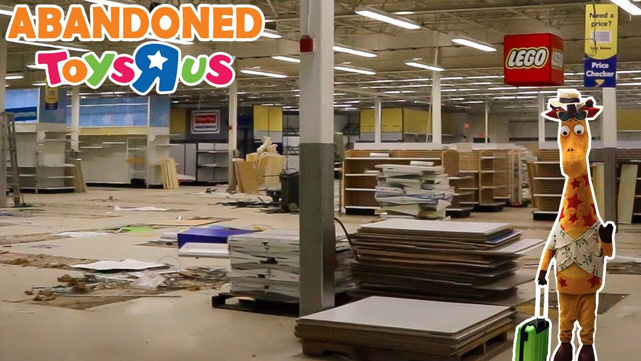Abandoned Toys R Us One Year After Closing Forever We