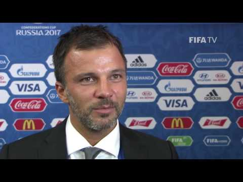 Anthony Hudson Reaction to FIFA Confederations Cup Official Draw