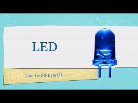 Como funciona um LED