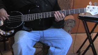 Just my Imagination Bass cover play along The Temptations
