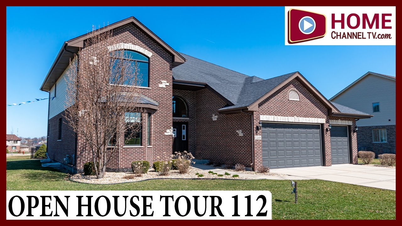 Open House Tour 112 - Two-Story Home Plan at Whisper Creek in Mokena, IL by Hartz Homes