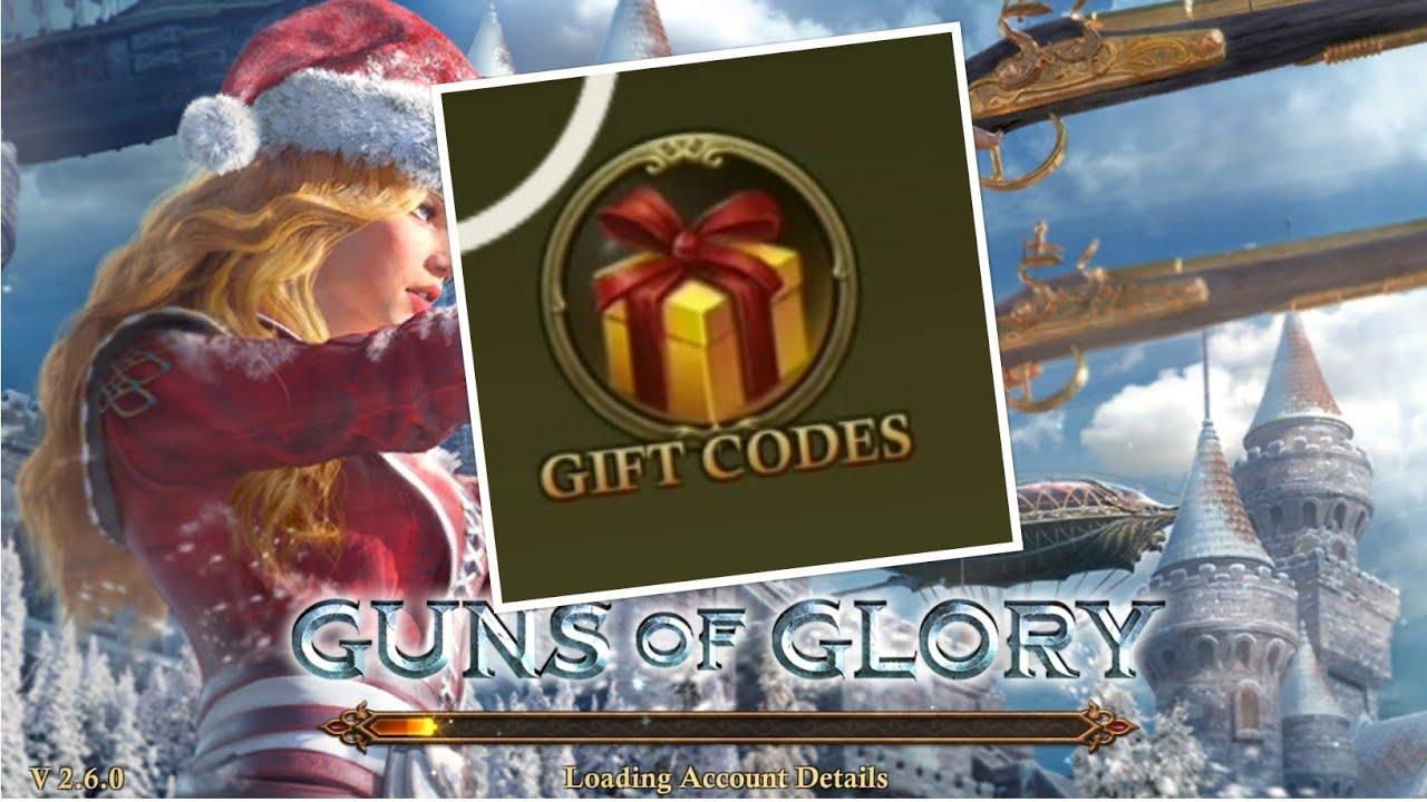 NEW GIFT CODE March 2019 - GUNS OF GLORY GOG - GIFT CODE