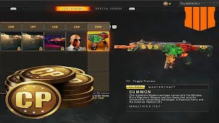 COD Points Are Back in Black Ops 4 (Supply Tier Opening)