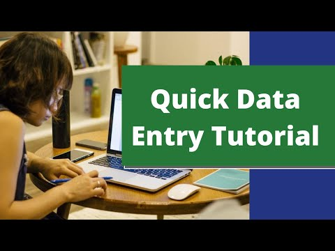 COMPLETE BEGINNERS TUTORIAL FOR DATA ENTRY ONLINE WORK   Work From Home Tips