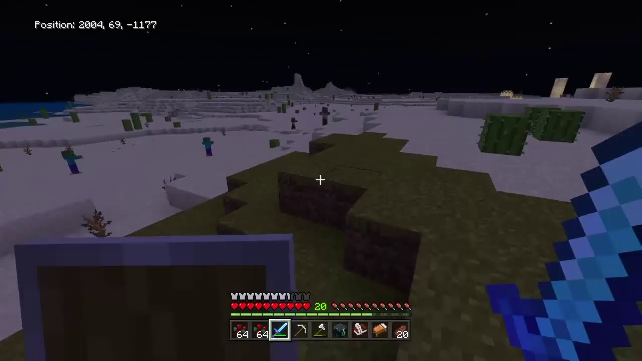Beating the ender dragon - YouTube