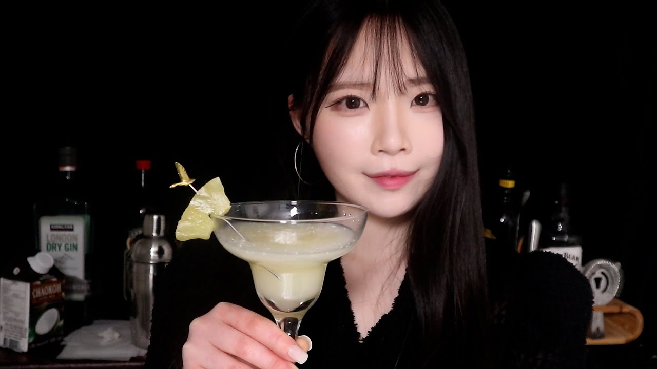 ASMR(Sub✔) 오늘 밤 저는 당신의 바텐더입니다🍸 Would you like to have a drink at a nice cocktail bar?