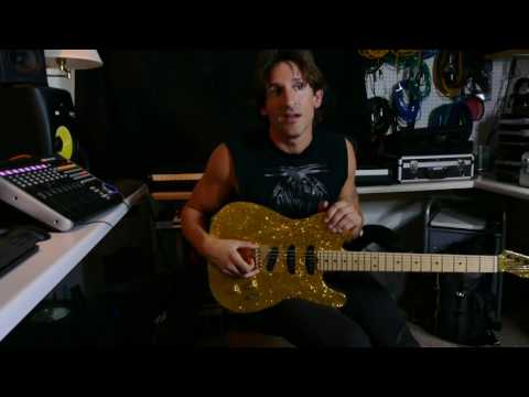 Guitarist AC Alexander on the Babicz Full Contact Bridge