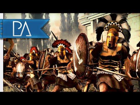 ATHENS VS SPARTA SIEGE BATTLE! Peloponnesian War - 4v4 Siege - Total War: Rome 2