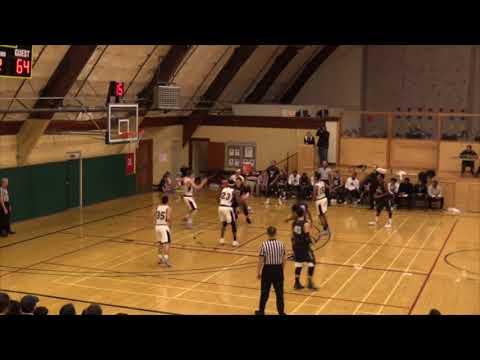 Benjamin Jazuk | Pacific Union College | 2016-17 | Basketball Highlights