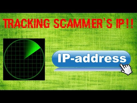 Tracking a Fake Tech Support Scammer's IP address!!