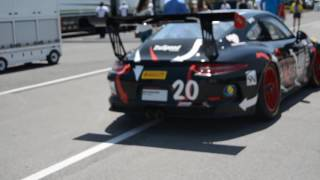 991 GT3 Cup Car Startup