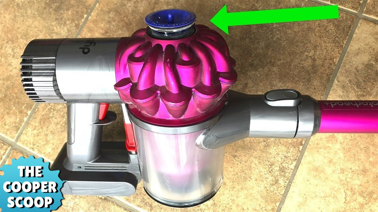 Dyson V6 Pulsing Problem (30 Second Fix)