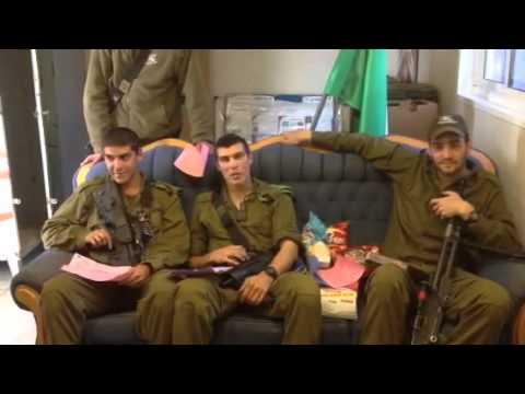 Israeli Soldiers Respond To FJA Mishloach Manot (Purim Packages)