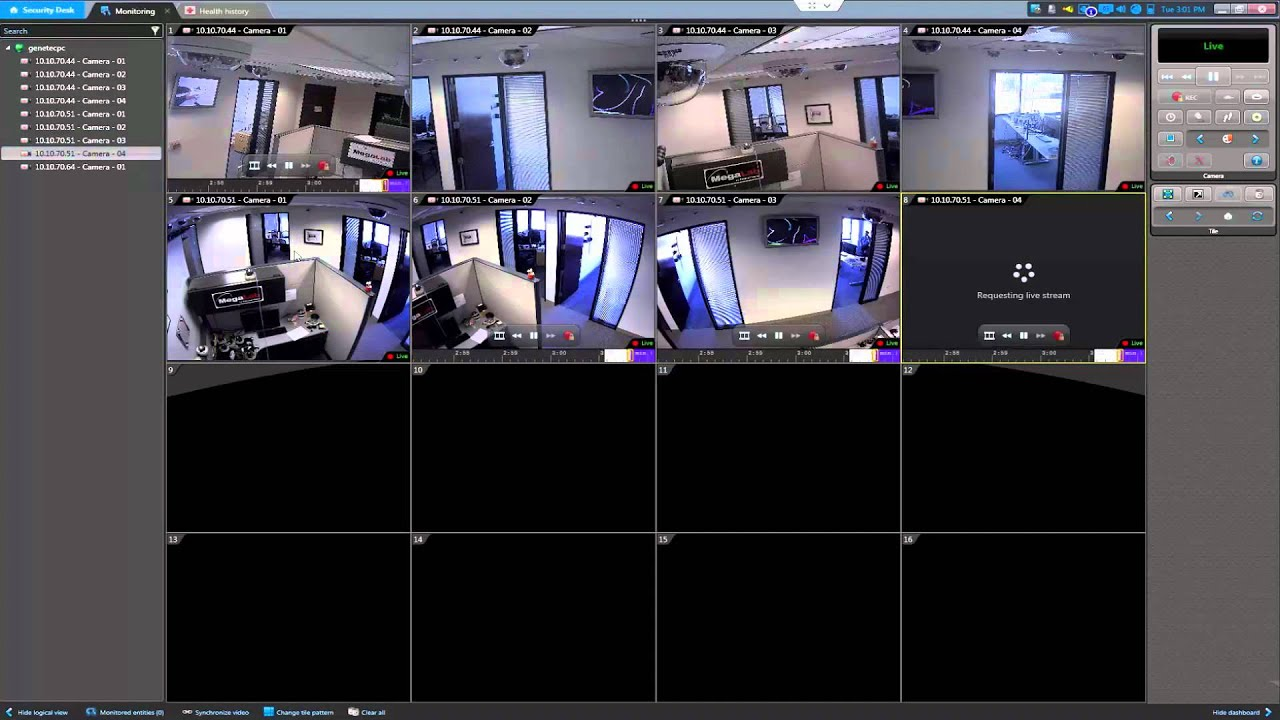 security camera installation panasonic cq rx100u wiring diagram 2 genetec center - youtube