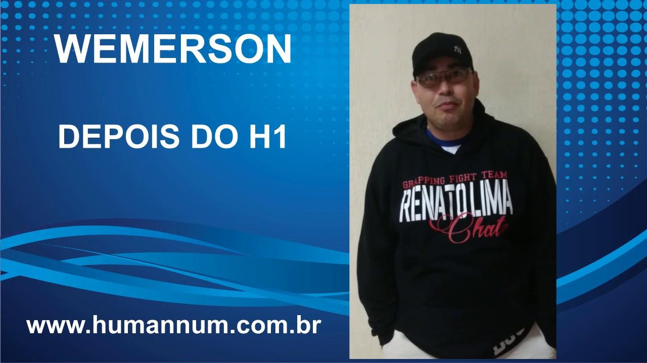 Depoimento Treinamento H1 - Wemerson