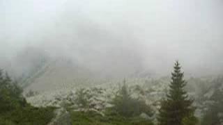 Nuvole basse a Passo Sadole