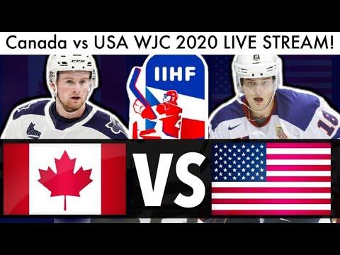 Canada Vs USA WJC GAME LIVE STREAM! (2020 IIHF Reaction & World Juniors Lafreniere NHL Draft Talk)