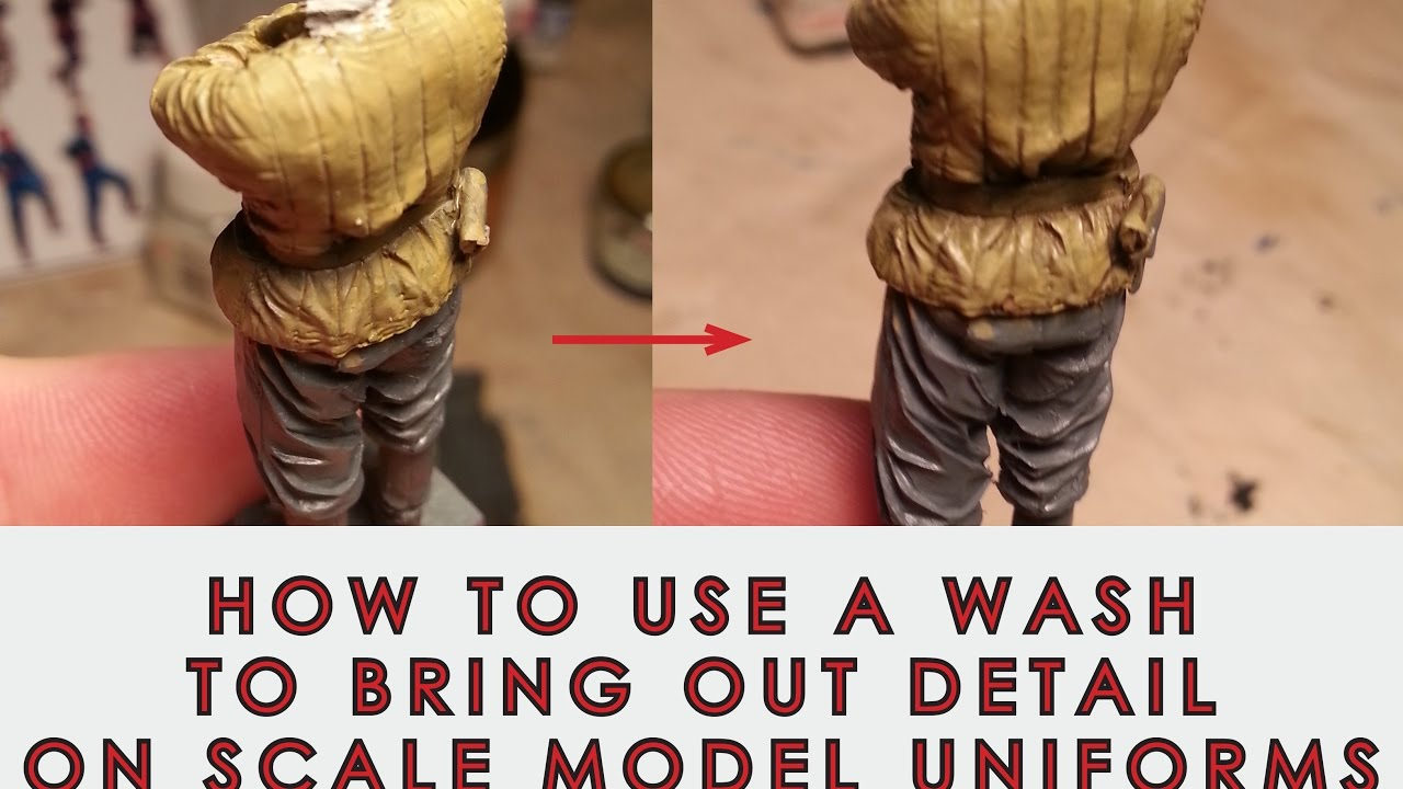 How to use a Wash to bring out detail on scale model figure uniforms     How to use a Wash to bring out detail on scale model figure uniforms