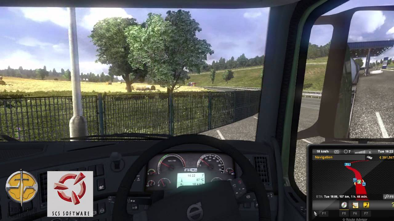 Euro Truck Simulator 2 - Game play - London to Manchester