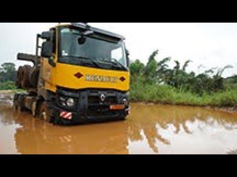 Renault Trucks K timber truck in Cameroon