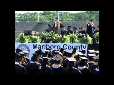 Marlboro County High School 2013 Valedictorian Speech