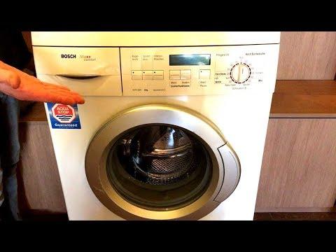 Как использовать стиральную машинку