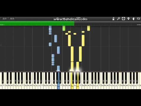 Route 3 - Pokemon R/S/B/Y  (Synthesia)