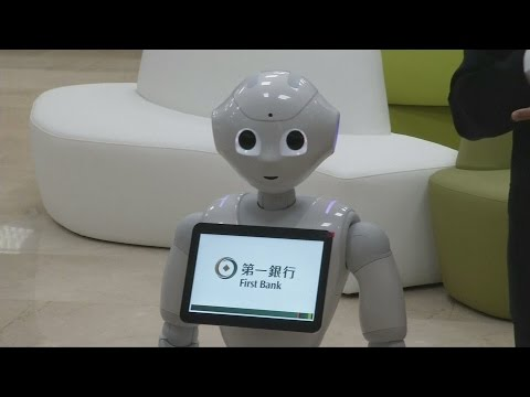 Pepper the robot launches in Taiwan