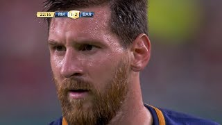 Lionel Messi vs Real Madrid (Neutral) 17-18 HD 1080i (30/07/2017) - English Commentary