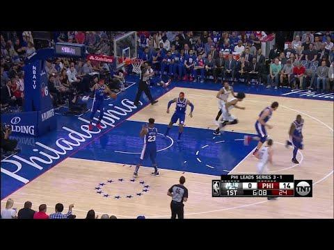 1st Quarter, One Box Video: Philadelphia 76ers vs. Brooklyn Nets