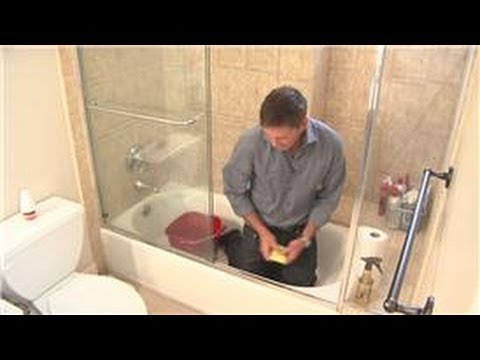 Cleaning Your Shower How to Clean a Shower Door Track YouTube