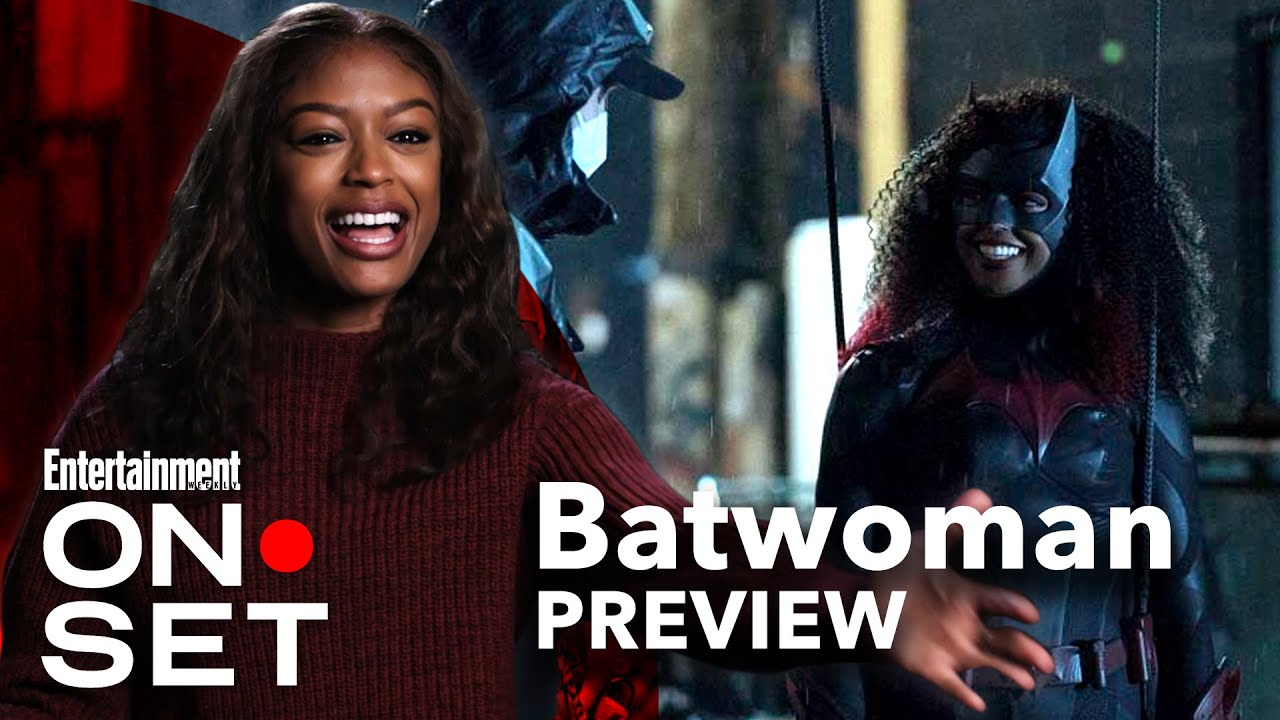 On Set with 'Batwoman' Preview