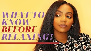 WATCH this BEFORE you Relax your Hair! ...Are you Really Ready?