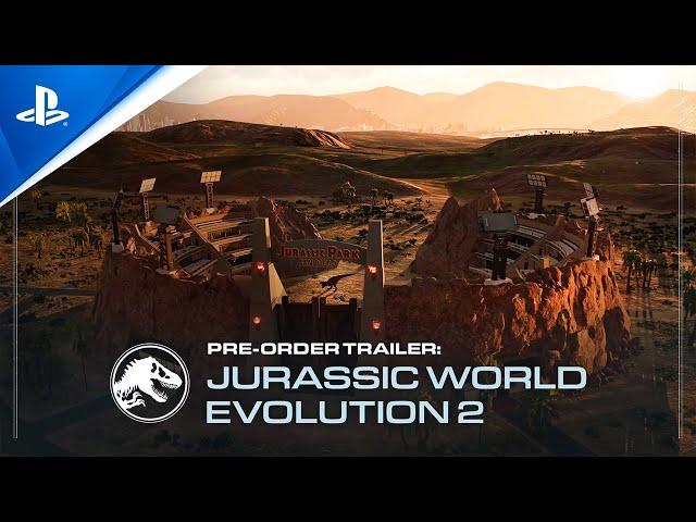 Jurassic World Evolution 2 (видео)