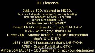 [REAL ATC] New York - JFK KJFK (Clearance Delivery)