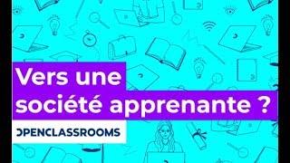 """Conférence : """"Vers une société apprenante"""" - François Taddei et Mathieu Nebra"""