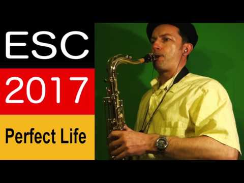 Perfect Life -  ESC Song Germany (Levina) Saxophone by Barry S