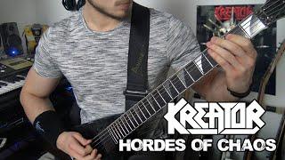 Kreator - Hordes Of Chaos   Full Guitar Cover (Tabs - MIDI - All Guitars)