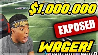 $1,000,000 COIN WAGER!! MOST STRESSFUL GAME EVER... | God Squad #73 | Madden 18 Ultimate Team