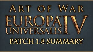 Europa Universalis IV Art of War Patch 1.8 Notes Thoughts and Summary
