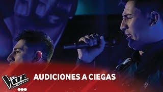 "Mellizos Vilchez - ""No saber de Tí - Audiciones Ciegas - La..."