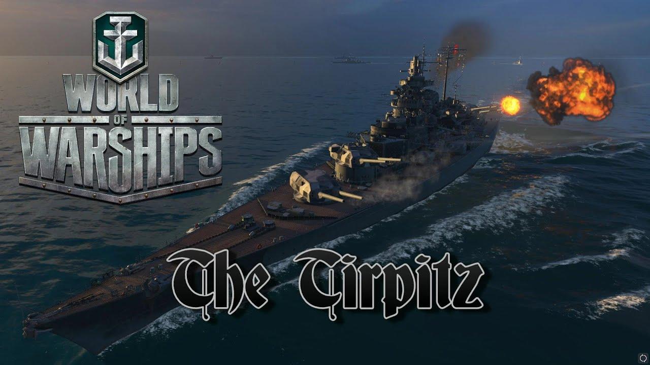 world of warships the tirpitz youtube