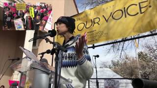 Lindsay Conover - Women's March On Washington Santa Fe