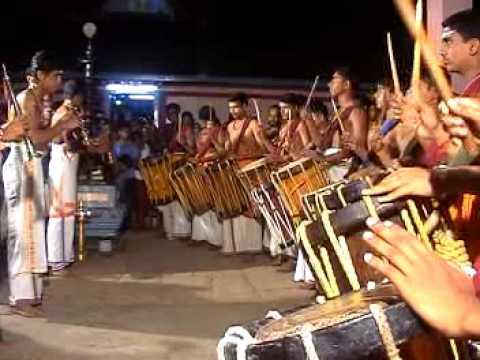 Arangeattam Of Saketh, Tarak & Vinayek - Panchari Melam - 2