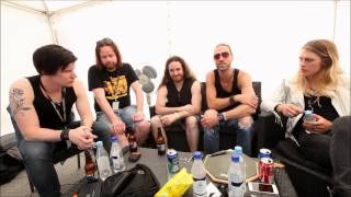 """PAIN OF SALVATION - The comeback """"A day in the life of Pain of Salvation"""" (interview 2014)"""