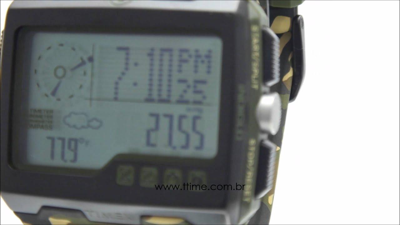 ce1620df2eb Relógio Timex Expedition WS4 T49840SU TI - YouTube