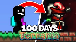 I Spent 100 Dąys in the Thorium Mod on Terraria... Here's What Happened...