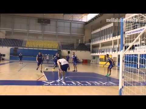 El Melilla Baloncesto reanuda los entrenamientos con un partido de Colpbol